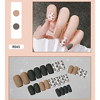 Bộ 24 móng tay giả nail thời trang như hình (R-045)