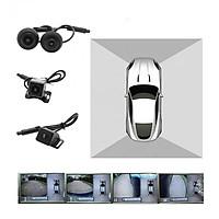 Camera hành trình 360 độ cao cấp chuẩn AHD nhãn hiệu LotusViet dành cho tất cả các loại xe ô tô có màn hình hiển thị