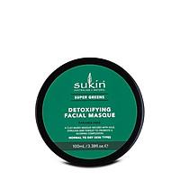 Mặt nạ đất sét thải độc Sukin Super Greens Detoxifying Facial Masque 100ml