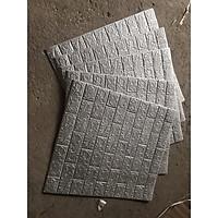 Bộ 10 tấm xốp dán tường 3D giả Gạch - 6mm