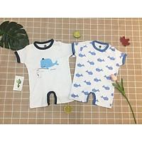 set 2 body đùi cho bé sơ sinh, quần áo cho bé sơ sinh mùa hè