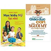 Combo 2 cuốn : Học kiểu Mỹ tại nhà + Phương pháp giáo dục con của người MỸ tặng kèm 1 flashcard ngẫu nhiên trong hình