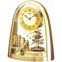 Đồng hồ để bàn hiệu RHYTHM - JAPAN 4SG607WS65 (Kích thước 19.7 x 24.0 x 9.6cm)