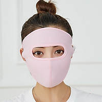 Khẩu trang Ninja 2 lớp vải cotton thông hơi che kín mặt chống nắng chống bụi nam và nữ - Khau trang