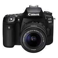 Máy Ảnh Canon EOS 90D Kit 18-55mm - Hàng Nhập Khẩu