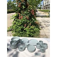 Bộ chén đĩa gốm sứ Mono 4 người 2 bát canh  (25P) - Erato - Hàng nhập khẩu Hàn Quốc