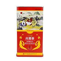 Hộp 150 Grams Hồng sâm 6 năm nguyên củ khô Daedong Korea (6 đến 10 củ)