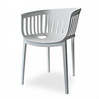 Ghế nhựa có tay vịn đúc nguyên khối MBROBA