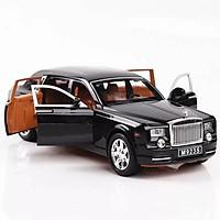 Mô hình xe Rolls Roycle Phantom 1:24 hiệu XLG - M923S-6 (đen)