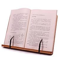 Giá Kẹp Sách Đứng Đầu Đọc Bằng Gỗ Tre Đọc Sách Còn Lại Tre Cao cấp