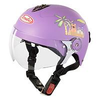 Mũ Bảo Hiểm Trẻ Em Andes 3S108SK Tem Nhám S96