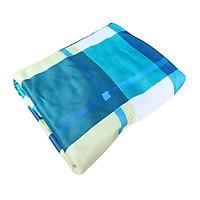 Áo Bọc Nệm 2 mặt Có Dây Kéo thun Lạnh NAB 14200 (2m x 1m4 x 10 cm) Màu Ngẫu Nhiên
