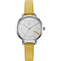 Đồng hồ nữ chính hãng Shengke Korea K8032L-02 Vàng