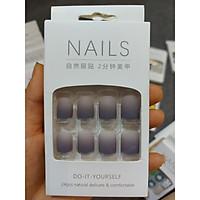 Bộ 24 móng nail giả nhiều màu. XX151