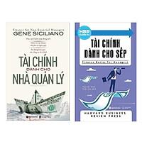 Combo Sách Kỹ Năng Làm Việc : Tài Chính Dành Cho Nhà Quản Lý+HBR Guide To - Tài Chính Dành Cho Sếp ( Tặng Kèm Bookmark Green Life)