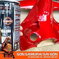 Sơn SAMURAI KUROBUSHI  Y138* MÀU ĐỎ CANDY chính hãng - Sơn phun xe máy SAMURAI SÀI GÒN