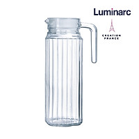 Bình Nước Thuỷ Tinh Luminarc Quadro 1.3L - LUQUL9918