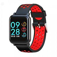 Đồng hồ thông minh smartwatch SN60-Plus (Đỏ) - Hỗ trợ Đo nhịp tim, đohuyết áp, nồng độ oxy trong máu - Hàng chính hãng