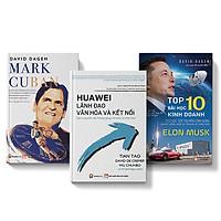[COMBO 3 cuốn] Elon Musk + Mark Cuban + Huawei lãnh đạo, văn hóa và kết nối