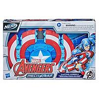 Đồ Chơi HASBRO AVENGERS Mô Hình Khiên Chiến Đấu Tấn Công Captain America Dòng Mech S F0265