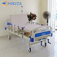 Giường bệnh y tế cao cấp đa chức năng - DCN03 chính hãng NIKITA - Chức năng nâng đầu - Nâng chân - Có chổ để bô
