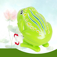 No Battery Needed Frog Creative Children's Clockwork Toy Cartoon Puzzle Chain Small Toy 1pc Baby Play Toddler Toys