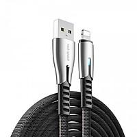 Dây cáp sạc nhanh 2.4A Lightning hiệu ROCK M2 hỗ trợtruyền data tốc độ cao480 Mbps cho iPhone / iPad- Hàng nhập khẩu