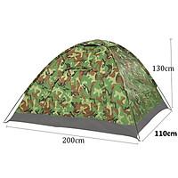 Lều Cắm Trại Du Lịch Vải Cao Cấp , Lều Cách Ly Chống Dịch Covid-19 (Rằn Ri) 2m x 1m1 x 1m3