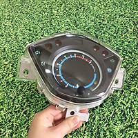 Đồng hồ điện tử dành cho xe WAVE RSX siêu chất CÁC THÔNG BÁO NHƯ ( ĐÈN NHAN TRÁI,PHẢI,ĐÈN PHA,BÁO XĂNG, BÁO SỐ.......) - S284