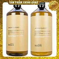Cặp dầu gội xả siêu mượt Nashi Argan Classic Shampoo and Conditioner 1000ml