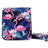 Bao Da Bảo Vệ Máy Chụp Ảnh Lấy Liền Instax Mini 90 - Flamingo Night