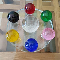 Đĩa cầu thất tinh, 7 quả cầu pha lê phong thủy