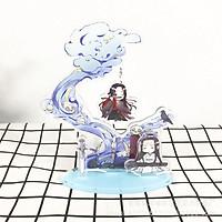 Mô hình Standee ma đạo tổ sư 3 mảnh ghép phong cảnh