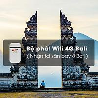 Thuê Bộ Phát Wifi 4G Bali 3 Ngày