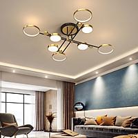 Đèn chùm LED NOFER sang trọng, hiện đại với 3 chế độ ánh sáng.