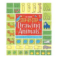Sách tương tác tiếng Anh - Usborne Step-by-step Drawing Animals