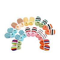 Combo 10 đôi giày vải sọc  tập đi cho bé trai/bé gái-ngẫu nhiên
