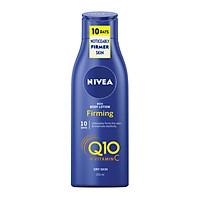 Dưỡng thể trắng da chống lão hoá, da khô Nivea Rich Body Lotion Firming Q10 + Vitamin C - Mẫu mới