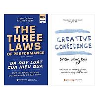 Combo Sách : Ba Quy Luật Của Hiệu Quả  + Tự Tin Sáng Tạo