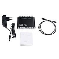 5.1 Audio Gear DTS AC-3 6CH Digital Audio converter LPCM To 5.1 Analog Output 2.1 Digital Audio Decoder For DVD PC
