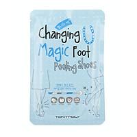 Miếng dán dưỡng và bảo vệ bàn chân Changing U Magic Foot Peeling Shoes TONYMOLY