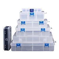 Household Vehicle-mounted Storage Box Plastic Container for Tool Electronic Components