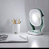 Quạt tích điện kiêm đèn Led 3 mức độ chiếu sáng, 3 tốc độ quạt có thể gắn tường
