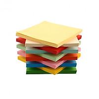 Giấy thủ công Origami 100 tờ 8X8cm nhiều màu, giấy xếp cò, giấy thủ công học sinh, siêu tiết kiệm
