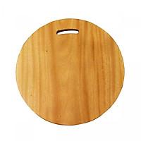 Thớt gỗ xà cừ nguyên khối Hình chữ nhật - Hình tròn