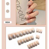 Bộ 24 móng tay giả nail thơi trang như hình (Y034)