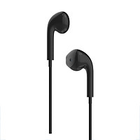 Tai nghe nhét tai có dây Jack cắm 3.5mm có Mic/Microphone VivuMax J15 - Cho iOS/Apple (iPhone/iPad), Android (Samsung, Sony, Xiaomi, Huawei, Oppo) Màu Trắng/Đen - Hàng Chính Hãng