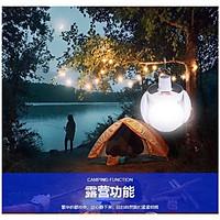 Đèn tích điện sạc bằng điện lưới gia đình hoặc năng lượng mặt trời,