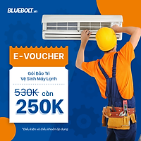 [E-voucher] [HCM] Gói dịch vụ Bảo trì và Vệ sinh máy lạnh - BlueBolt
