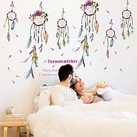 Decal dán tường Dreamcatcher Amy DKN78 - 2 bộ (105 x 200 cm)